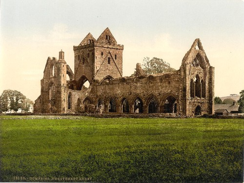 [Sweetheart Abbey, Dumfries, Scotland]