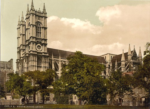 [Westminster Abbey, London, England]