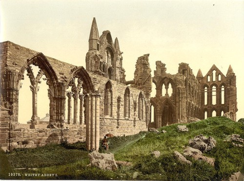 [Whitby, the abbey, I., Yorkshire, England]