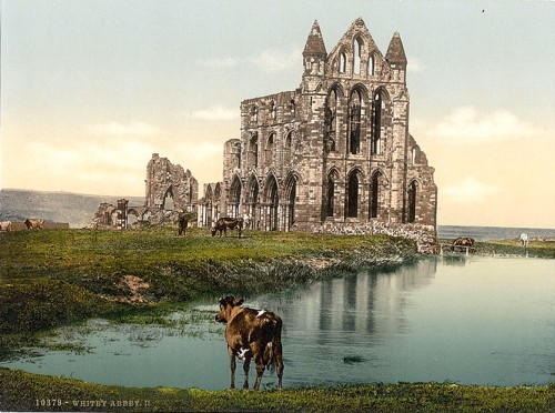 [Whitby, the abbey, II., Yorkshire, England]