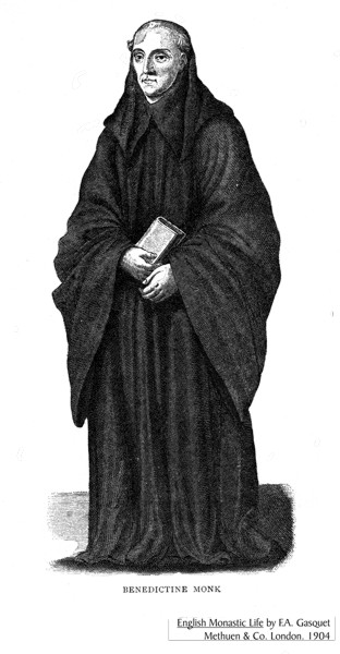 benedictine monastisim The relationship between medieval monasticism and pastoral care is a   century benedictine monasticism26 in fact it is most likely that 'reform' will  continue to.